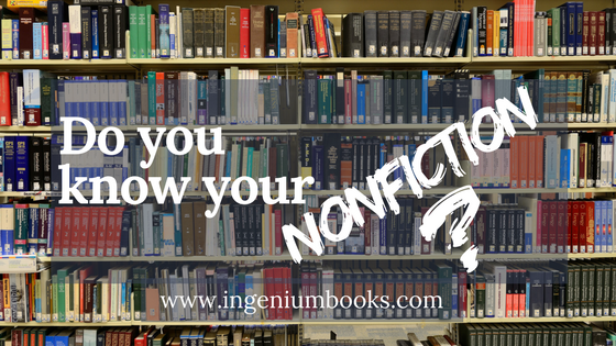 Do You Know Your Nonfiction?