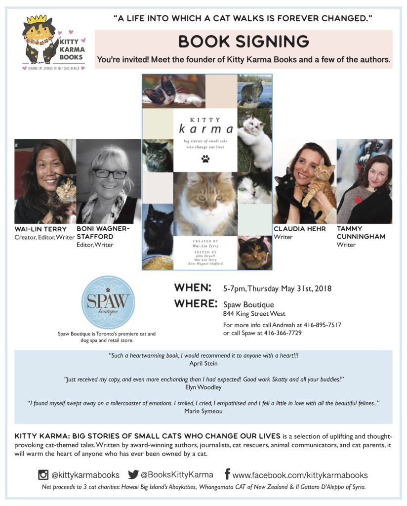 Kitty Karma Book Signing