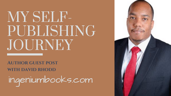 self-publishing journey David Rhodd