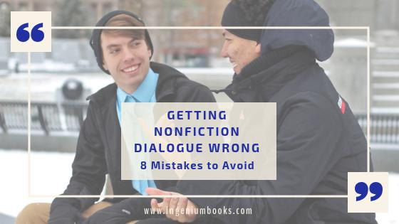 nonfiction dialogue