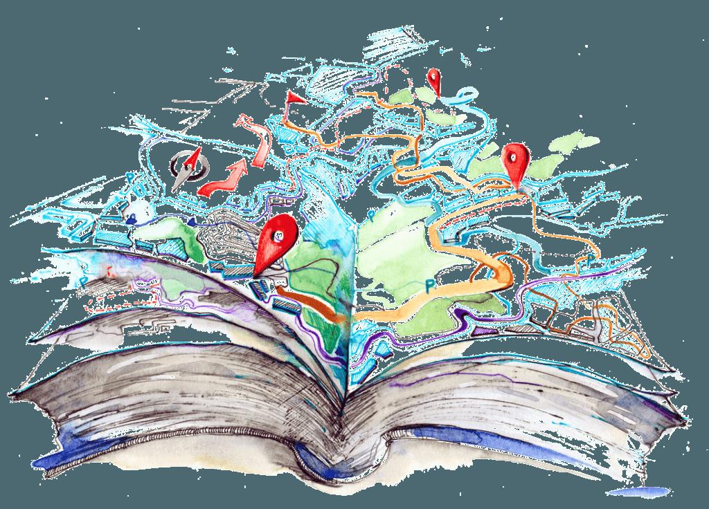 book plot map transp