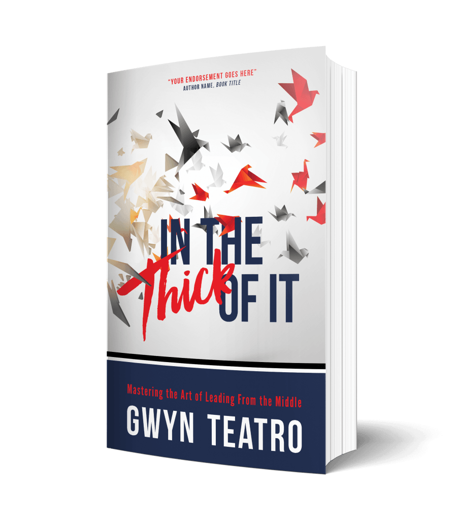 In the Thick of It 3D Book Cover