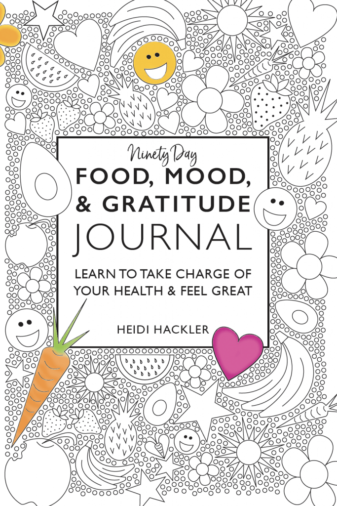 Food Mood Gratitude Journal