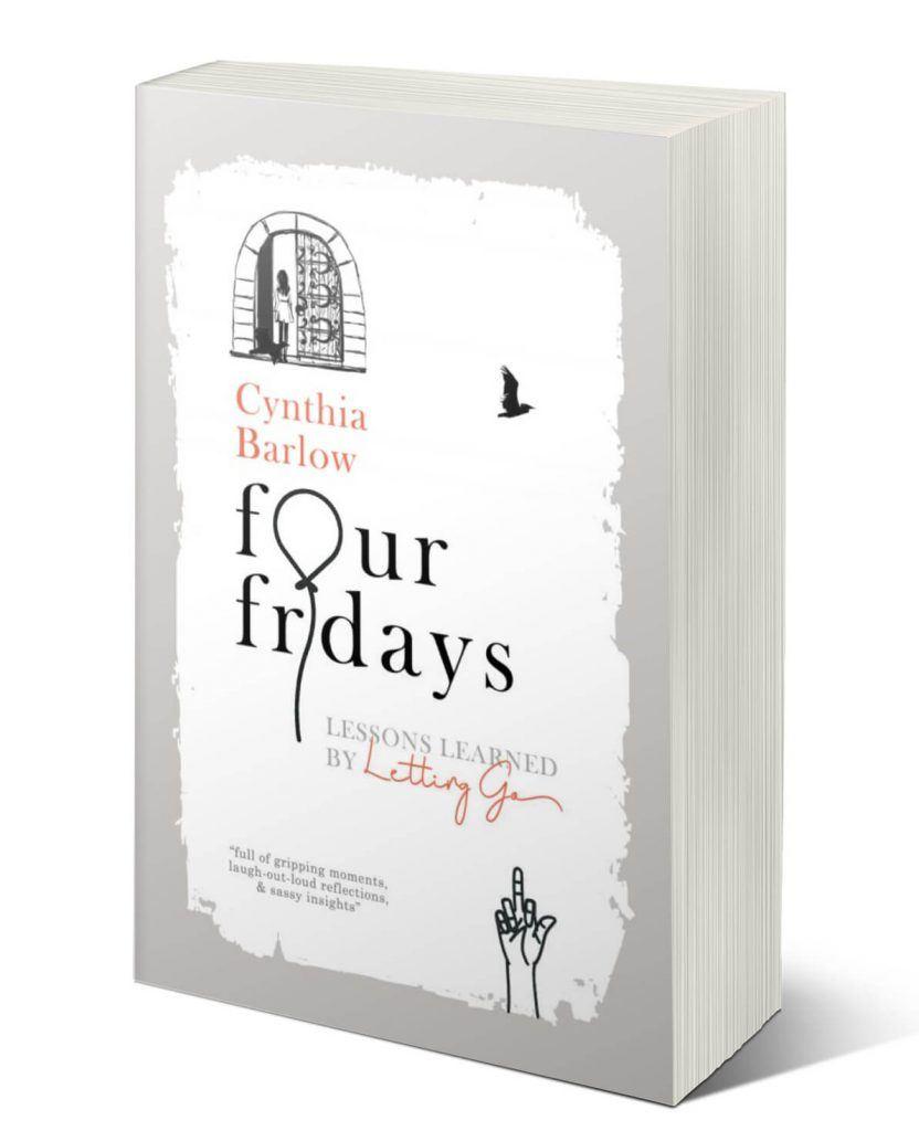 Four Fridays 3D Book Cover Trans