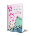 Author Dina Marie My Fat Pants 3D Book Cover