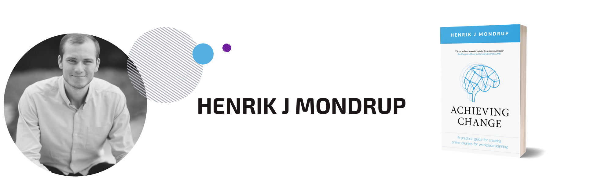 Henrik Mondrup Author Page Header