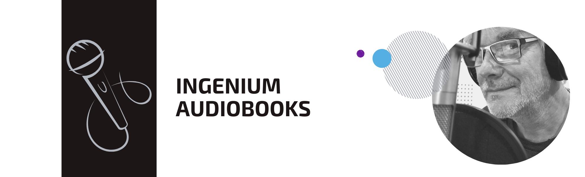 Ingenium Audiobooks Header