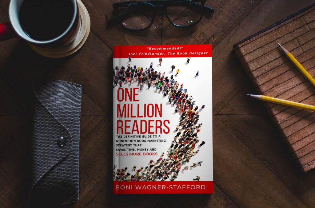 One Million Readers Book on a table
