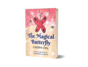 3D Single Magical Book Cover