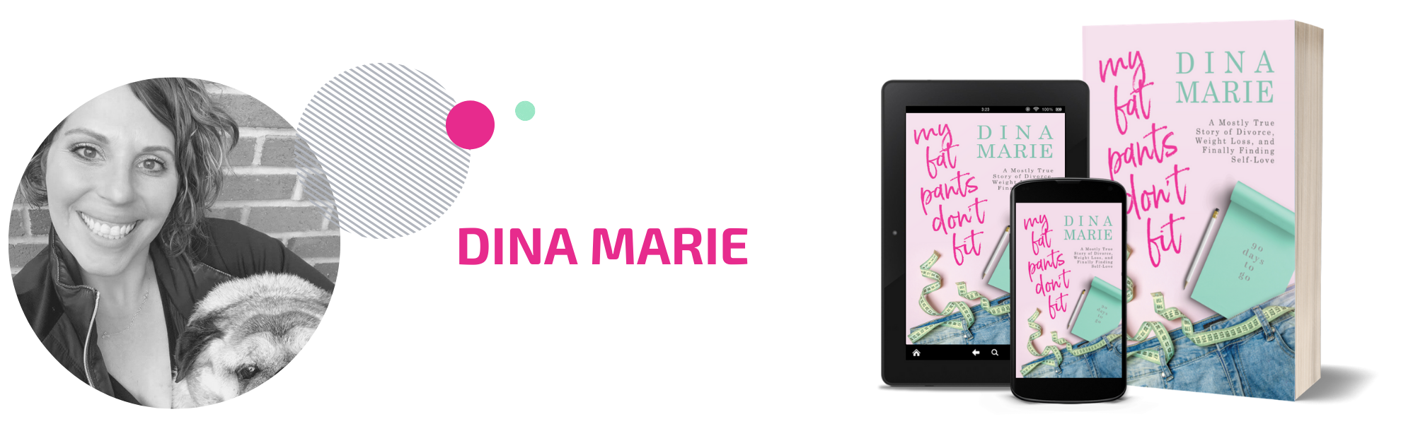 Dina Marie Author Page Header