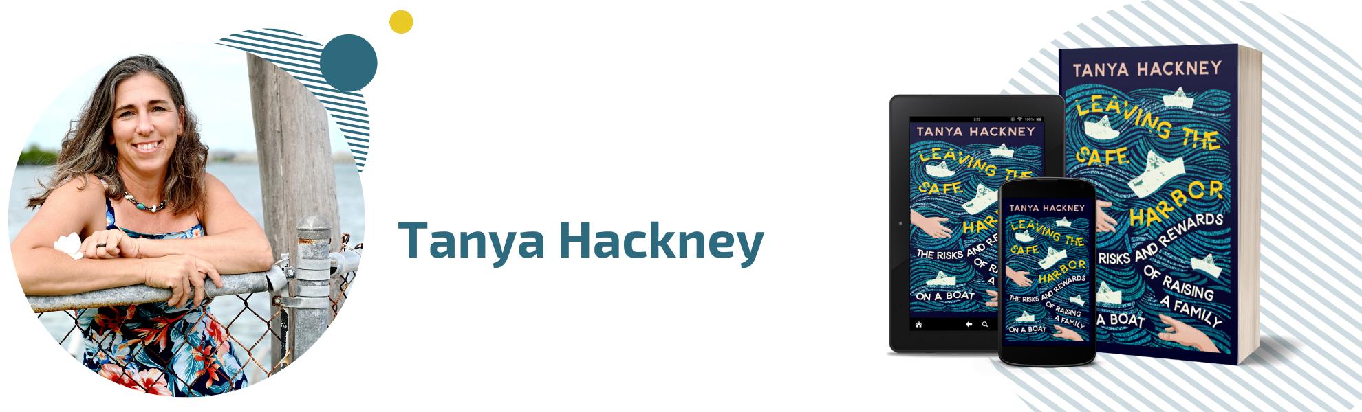 Author Tanya Hackney Page Header